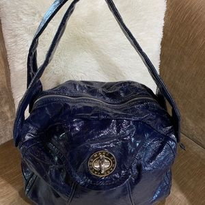 Marc Jacobs navy  pattern leather